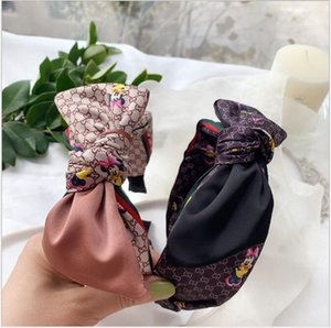lüks Kafa Kore'nin yeni sevimli MI marka fare ilmek şapkaya 2 renk moda saç bandı INS eğilim saç aksesuarları Retro