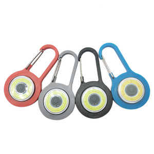 Außenreit Karabiner Super Bright Schultasche Lichter Fahrrad-Sicherheits-Warnlampe blinkende Nacht Gehen Luminous 911 Hanging
