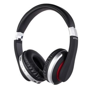 Auriculares inalámbricos Bluetooth estéreo del juego plegable auriculares con micrófono del teléfono de la ayuda TF tarjetas para el iPad móvil