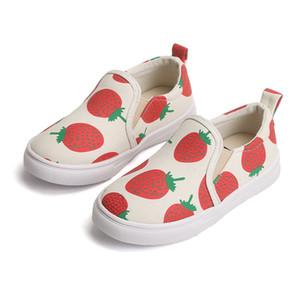 Детские ботинки холст с педалью Новая мода дизайнер детей мальчиков и девочек, детская обувь мягкой нижней осени девочки обувь