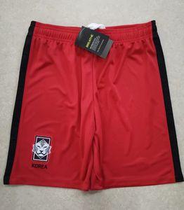 2020 cortocircuitos del fútbol de Corea del Sur Inicio Los hombres rojos de distancia blancos pantalones de sudadera SON HUN KWON LEE KIM KIM HO HYUNG pantalón corto fútbol