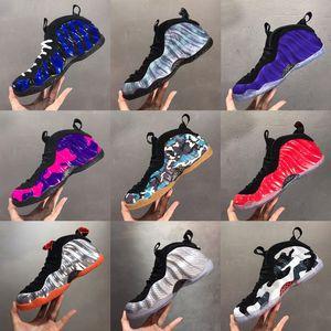 2020 Penny Hardaway Abalone Çocuklar Erkek Basketbol Ayakkabı PURPLE CAMO Snakeskin ABD FLORAL KNICKS KRALİYET Bülent Habanero KIRMIZI spor ayakkabı