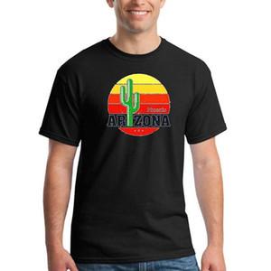 2018 Новый 100% хлопок ВС Аризона Феникс Кактус Vintage футболки для мужчин 3d T Shirt Мужчины Плюс Размер Хлопок Топы Tee