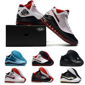 подушка Lebrons 7 2020 баскетбольная обувь свежая порода king equalit lightyear Lebron Sneaker 7s спортивные тренеры размер 7-12