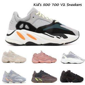 2020 Inertia Infant 700 V2 Wave Runner Kids Running Shoes Solid Grey Toddler 500 Blush Children Sneakers Utility Black boy girl Trainers