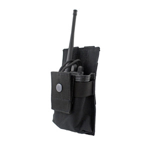 MOLLE 라디오 홀더 Walkie Talkie Pouch Open Top 라이플 Mag 파우치