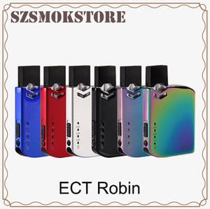 Оригинальный ECT Robin Pod Kit Электронная сигарета VV Box Mod Kit 0.5 мл Картридж Портативный Vape Pen 6 доступных цветов 0268117