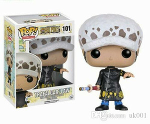 Lucky Funko pop ONE PIECE 10cm TRAFALGAR LAW doll Action Figure Toy bambole in vinile