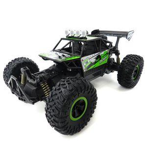 4WD Actualizado Radio Control RC Cars 1/18 Escala 2.4 Ghz Alta Velocidad RC Oruga Oruga Buggy Buggy Off-Road RTR Juguetes para niños Niños