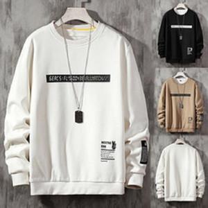 Японский Streetwear Hoodie Mens Casual Лоскутная O-образным вырезом Японский Streetwear с длинным рукавом Толстовка Мужская одежда Harajuku Poleron