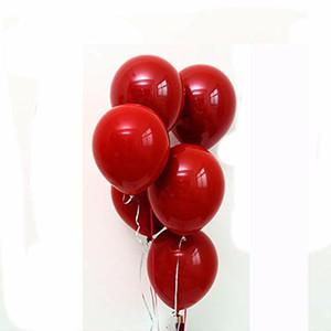 50pcs bag Super Large Large Red Balloon 100pc Wedding Birthday Decoration Fantasy Birthday Show Balloon Multicolor Latex Giant