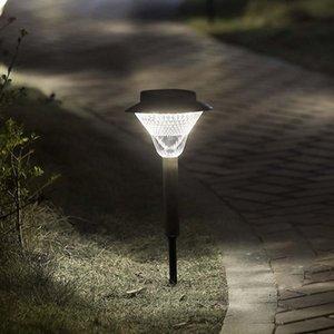 Brelong 48leds Outdoor Solar Ground Light Ip65 водонепроницаемый газонный свет белый / теплый белый 1 шт