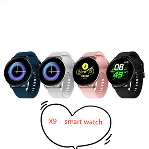 High quality X9 Smart Watch Bracelet Heart Rate Blood Pressure Monitor Call Reminder Fitness Tracker Waterproof Smart Wristband For Android