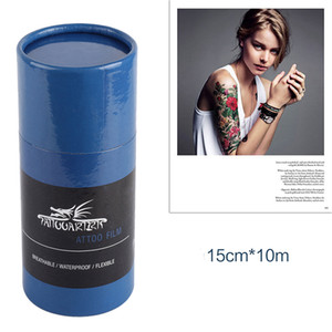 10M Protective Breathable Tattoo Film After Care Tattoo Aftercare Solution For The Initial Healing Supplies Accessories