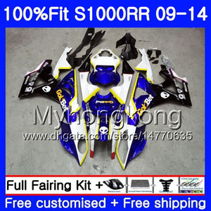 Injection For BMW S 1000RR S1000RR 09 10 11 12 13 14 312HM.1 S 1000 RR S1000 RR 2009 2010 2011 2012 2013 2014 OEM Fairings Stock blue black