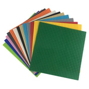 Kazi Classic Base Plates Plastic Bricks Baseplates Block Compatible elys Dimensions Building Blocks Construction Toy 32*32 Dots