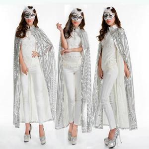 Le donne Outwear colori coulisse del Capo con cappuccio a maniche lunghe cappotti delle signore della molla del progettista con Sequine Moda Solid