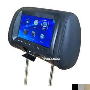 شاشة مسند السيارة 7 بوصة وسادة Mp4 / MP5 متعددة الوسائط تدعم AV / USB / SD / FM / Speaker / Headphone