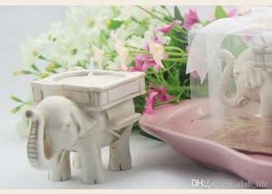 """Свадебные сувениры партия подарочные поставки """"счастливый слон"""" смолы чай свет подсвечник домашнего декора бесплатная доставка"""