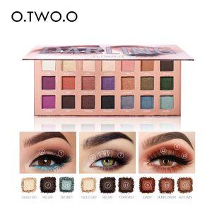 Multi-color Mulheres Sombra O.TWO.O da Cosmetic Matte Sombra Creme Make Up Palette Shimmer Define 21 cores Sombra 19L0513