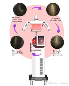 più nuova macchina di ricrescita dei capelli del laser a diodi laser di 660nm apparecchiature crescita dei capelli trattamento di perdita di anti per la ricrescita dei capelli spedizione e le tasse libere