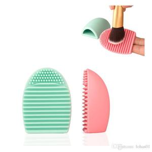 Neuestes Art- und Weisesilikonbürsten-sauberes Ei für einfache Wäschebürsten-Reinigungs-Hilfsmittel-kosmetische Hilfsmittel MOQ 1 Stück Freies Verschiffen