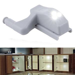 LEVOU Gabinete Dobradiça Led Sensor de Luz Guarda-roupa Da Lâmpada de Luz Da Noite Porta Do Armário Lâmpada Cozinha Lâmpada Suprimentos de Cozinha Em Casa