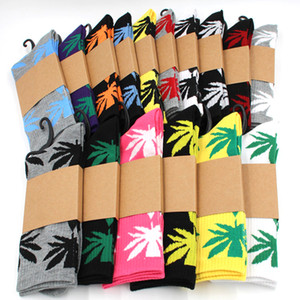 Männer Socken Weihnachten Socke Plantlife Baumwollsocken Skateboard Fashion hiphop Ahornblatt Frauen Sportsocken