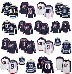 Columbus Blue Jackets Jersey 72 Сергей Бобровский 13 Cam Atkinson 3 Seth Джонс Джош Андерсон Пьер-Люк Дубуис Дюшен сшитый хоккей