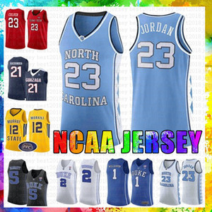 erkekler 23 Jarrett Michael JD Culver Jersey North Carolina State University 12 De'Andre Ja Hunter Morant Rui Hachimura Zion 1 Williamson Kırmızımsı