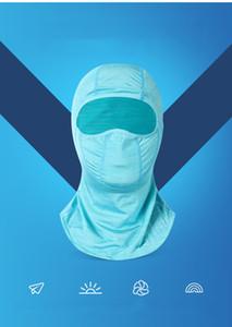 Спорт Магия Бандана Ice Шелковый шарф Велоспорт маска Маски Летняя Солнцезащитный Многофункциональный Дышащие Открытый лицо в наличии