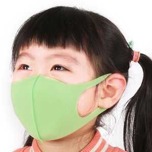 30Pcs Mouth Mask Sponge 6-13 Years Kids Children Anti Pollution Mask Air Dust Face Masks Washable and Reusable Mouth Cover
