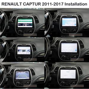 9.0inch Android9.0 RAM 4G ROM 32G Автомобильного DVD Радио GPS навигация Центральная Мультимедиа для RENAULT CAPTURE 2011 2012 2013 2014 2015 2016 2017