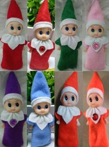 10pcs Büyük Kalite Noel Bebek Elf Bebekler Bebek Elfler Bebekler Oyuncak Mini Elf Noel Dekorasyon Doll Çocuk Oyuncakları Çocuk Hediyeleri