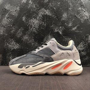 700 Wave Runner Magnet sneakers kanye sneaker west running shoes trainer youth kids men women trainers real boots FU7914 with box boy girl