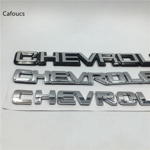 Para Chevrolet Lacetti Captiva Aveo Cruze Spark insignia del emblema de la placa de identificación de arranque posterior del tronco etiqueta engomada del logotipo