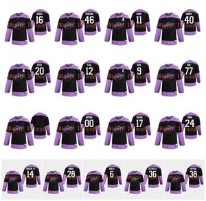 Minnesota sauvage Jersey Combat pratique Cancer 40 Devan Dubnyk 9 Mikko Koivu 11 Zach Parise 20 Ryan Suter 36 Mats Zuccarello 16 Zucker hockey