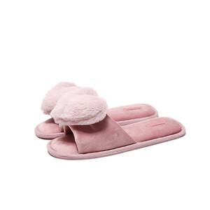 Yaz yeni stil ürünleri aşk pamuk paspas kapalı kat ev hediye kauçuk alt kadın terlik balık ağzı yetişkin kız ayakkabı