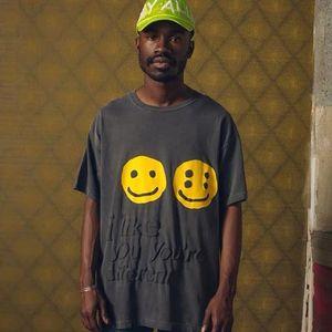 20SS Me gustas te de la historieta linda camiseta de manga corta de la moda joven Calle Verano Hombres Mujeres Parejas camiseta HFYMTX641
