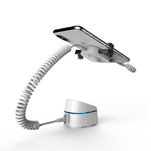 10PCS Remote Control Mobile Phone Segurança Display Stand Iphone / Samsung Anti roubo de dispositivos Smartphone Burglar Alarm System Titular com grampo