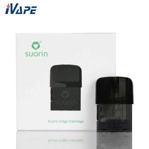 100 % 기존 SUORIN EDGE 포드 카트리지 1.5ml Suorin Edge Kit 용 교체 포드 1.4ohm 코일 누출 방지 설계 내장