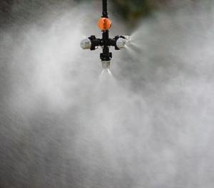 Висячая анти капельная запотевающая насадка перекрестное распыление сопла туман водяной спрей для капельного орошения теплицы