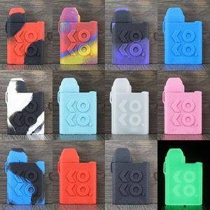 Caliburn KOKO Housse en silicone ligne cuir surface peau cas colorée Caliburn Koko Pod Kit souple manches Housse en silicone DHL gratuit