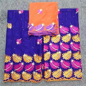 2020 Африканский швейцарский Voile ткань шнурка вышивки кружевной отделкой высокого качества африканский сухой ткани хлопка для свадьбы HL052306