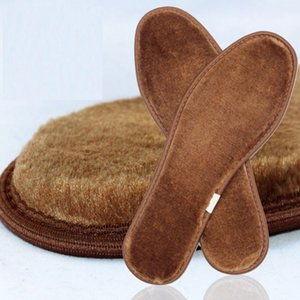 Thickened wool insoles winter thermal imitation cashmere sheepskin fur shoes pad Fleece keep warming unisex