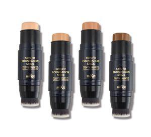 MIXIU Palette Correcteur de teint crème Maquillage Pro Stylo stick correcteur 4 couleurs Correcteur facultatif Contour Palette Contouring Make Up