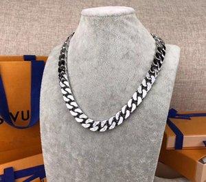 Top Luxury Design New Arrive Fashion Men 316L Titanium steel Engrave Four Leaf Flower Colored Enamel 18K Gold Thick Links Patches Bracelet