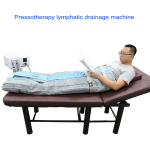 Pressotherapy lymphatic drainage massage machine detox air pressure suit with chamber hot sale lymphatic drainage device