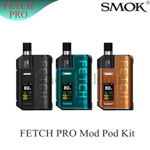 PRO Pod Seti 80W Ecigarette Kiti Tek 18650 Fetch SMOK Pil Pro RPM Pro RGC'ye Pod RPM Bobin Orijinali Fetch 4.3ml