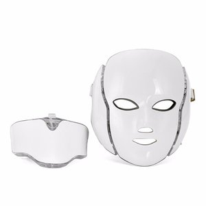 HOT SALE ! Microcurrent LED Mask Facial Care Therapy Beauty PDT Tool LED Facial Mask Multifunctional Cosmetic Device Free shipping